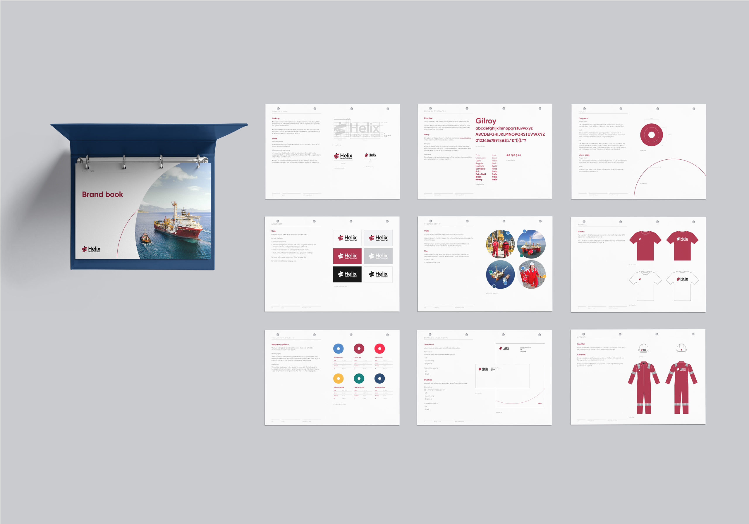 Helix Energy Solutions brand guidelines