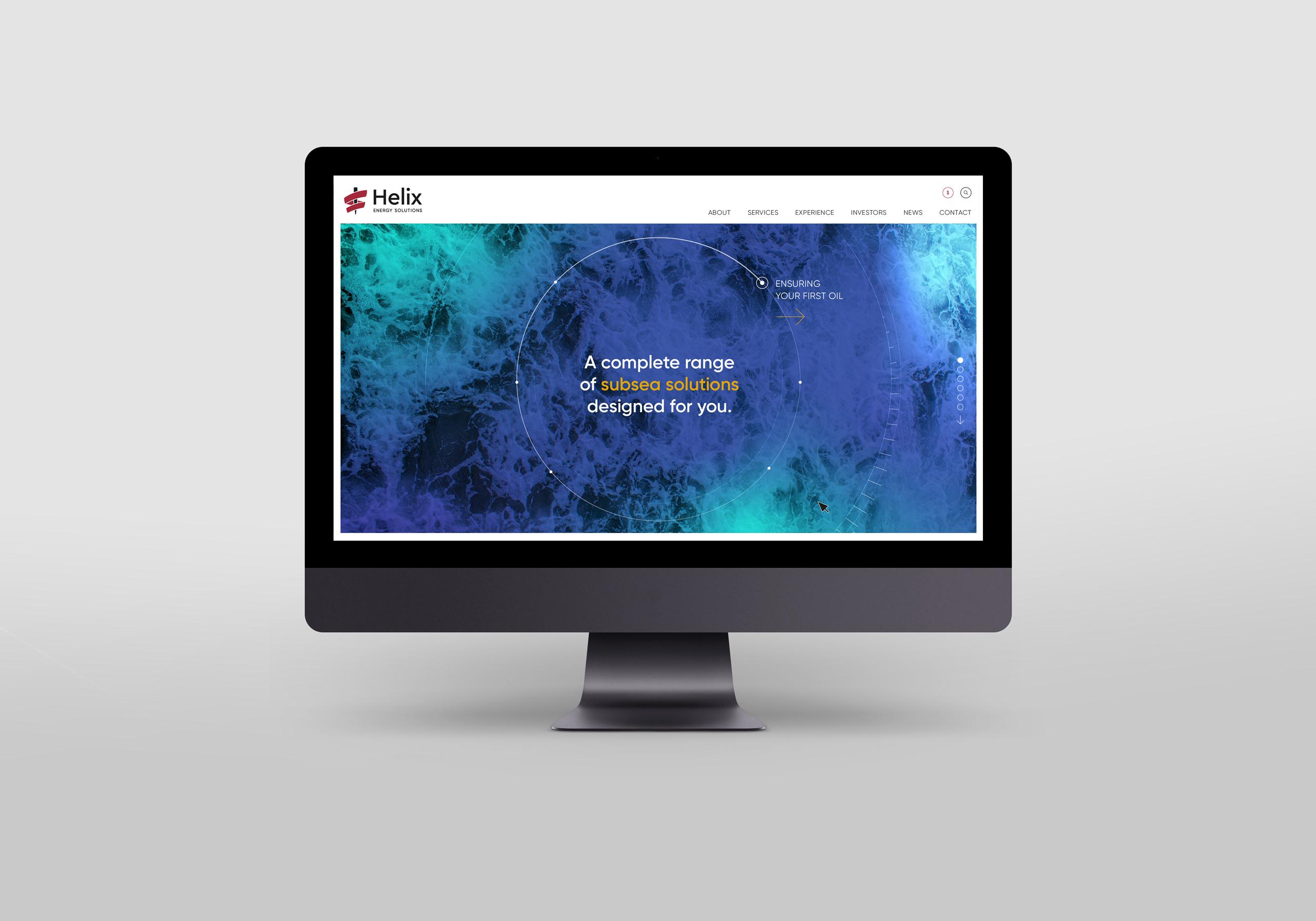 Helix Energy Solutions web